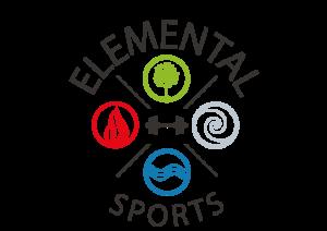 Elemental Sports logo kleur 1